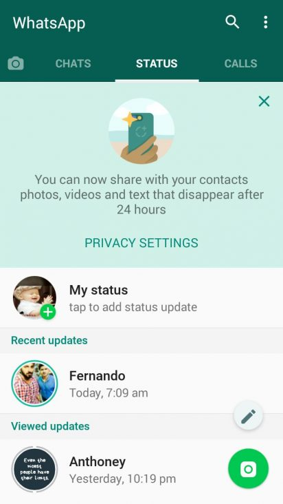WhatsApp Messenger 2 19 249 APK for Android - Download