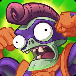 Логотип игры Plants vs Zombie:Heroes