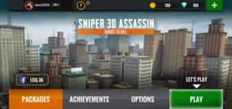 Sniper 3D Assassin Gun Shooter screenshot 1