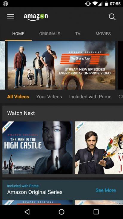 amazon prime video app mod apk