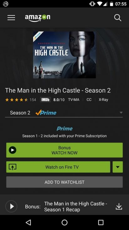 Amazon Prime Video 3 0 255 13741 APK for Android - Download
