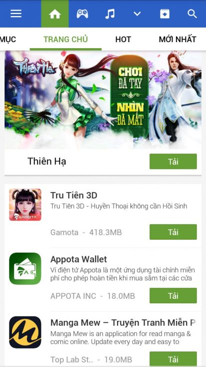 appvn for android
