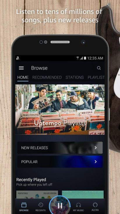 Amazon Music 15 21 10 for Android - Download - AndroidAPKsFree