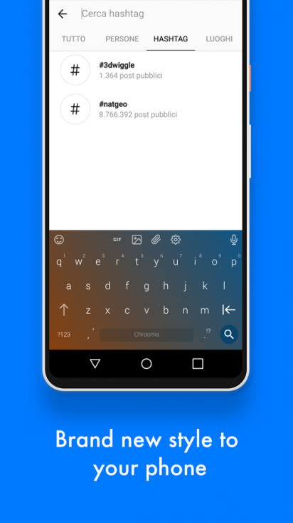Chrooma Keyboard helium-3 4 for Android - Download
