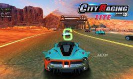 City Racing Lite screenshot 2