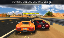 City Racing Lite screenshot 1