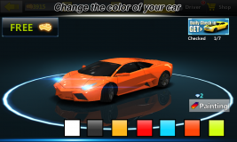 City Racing Lite screenshot 4
