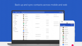 Google Contacts screenshot 1