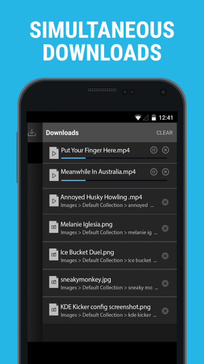 apk downloader & private browser
