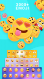 Emoji keyboard - Cute Emoticons, GIF, Stickers screenshot 1