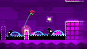 Geometry Dash Meltdown screenshot 1