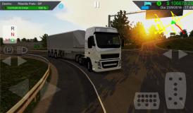 Heavy Truck Simulator screenshot 1
