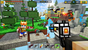 Pixel Gun 3D: Survival shooter & Battle Royale screenshot 1