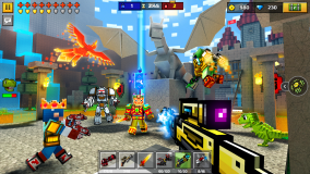 Pixel Gun 3D: Survival shooter & Battle Royale screenshot 2