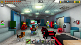 Pixel Gun 3D: Survival shooter & Battle Royale screenshot 3