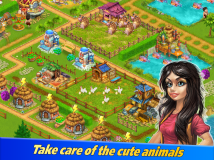 Farm Tribe 3: Cooking Island screenshot 2