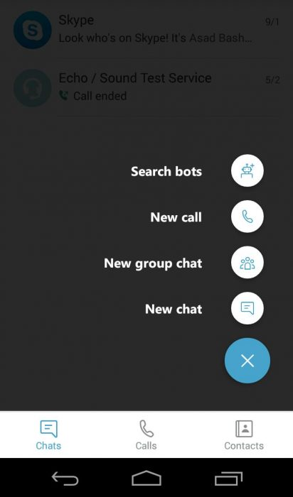 skype video call android apk download