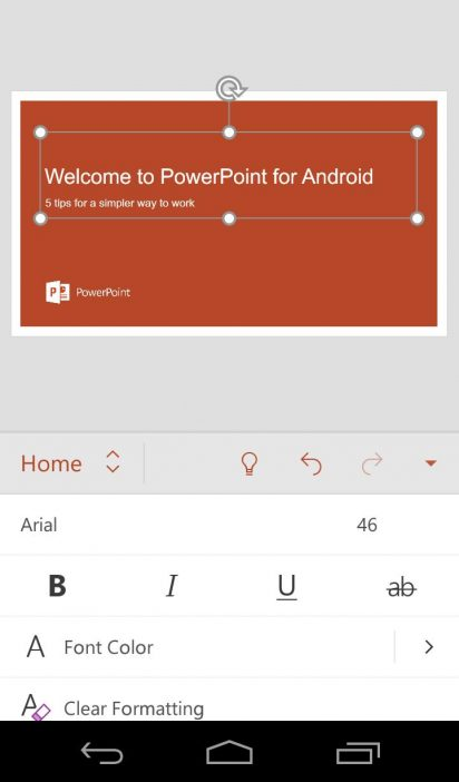 powerpoint apk for android tv