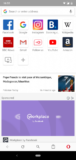 Opera browser screenshot 1
