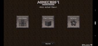 Minecraft: Pocket Edition Demo screenshot 1