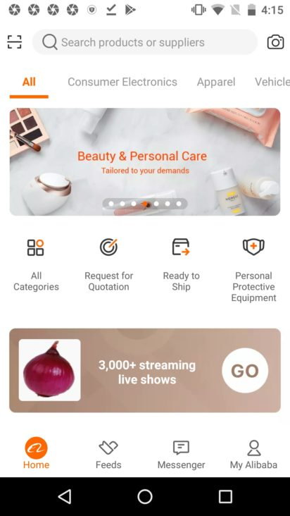 Alibaba 7 13 0 Apk For Android Download Androidapksfree Alibaba app is the official android application of the popular online chinese shopping service, alibaba. alibaba 7 13 0 apk for android